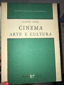 VARESE - CINEMA ARTE E CULTURA - MARSILIO - 1963