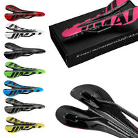 Bike Seat Saddle  for Road Bicycle Bike Durable Muti-color Carbon Fiber st