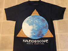 WEAR THE PARTY kaleidoscope music fest T-SHIRT small LED light draw party rave