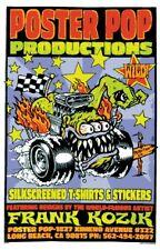 Poster Pop Kozik POSTER Ass Fink Butt Racer Signed by Artist Roth Like