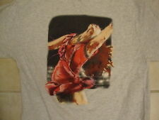 US Figure Skating Team USA Skater Picture Fan Light Heather Gray T Shirt S