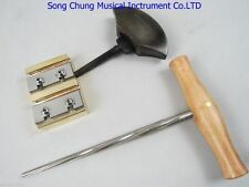 VIOLIN PEG HOLE REAMER /PEG SHAVE /pegs assistant handle