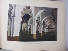 ALGERIE : Gravure 19° in folio couleur / TLEMCEN:GRANDE MOSQUEE DE DJAMA-KEBOR
