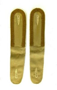 German DAK AFRIKA KORPS Unteroffizier Shoulder Boards