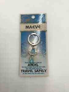 MAEVE Guardian Angel key ring Reminder your Angel with Travel Safely