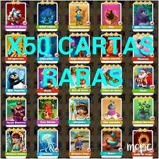 X50 Cartas raras  Coin Master