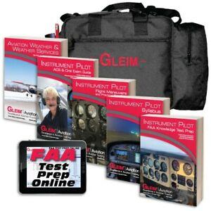 Complete Gleim Instrument Pilot Kit For PPL/CPL