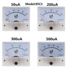 85c1 Analog Current Panel Meter Dc 50 500a Ammeter Circuit Testing Ampere Gauge