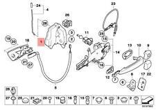 Genuine BMW E60 E60N E61 E61N Door Lock Actuator Motor Right OEM 51217202146