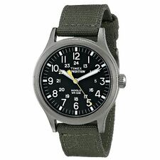 TIMEX QUARTZ WATCH WITH DIAL ANALOGUE DISPLAY AND NYLON STRAP-GREEN (T49961)