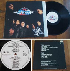 "LP 33 RPM SUPRÊME NTM ""Authentik"" (Joey Starr, France 2014)"