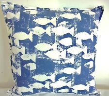 2 NEW CUSHION COVERS IN PRESTIGIOUS SHOAL, SEASIDE FISH, NAUTICAL, BY THE SEA