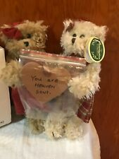 Set of 2-7inch Plush Bears--The Bearington Collection-Sweet blessings-New in Box