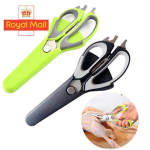 Heavy Duty Scissors Multi Purpose Kitchen Household Office Stainless Steel Set G
