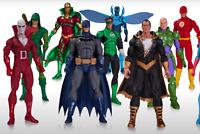 DC Comics ICONS Collectible figures: Batman, Wonder Woman, Flash,  more NIB