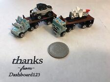 Micro Machines Semi Truck Collection #2 MILITARY CONVOY RARE 1990