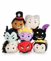 AUTHENTIC Disney Store Villains Tsum Tsum Set (x8) Maleficent/Cruella - NWT!!!