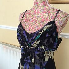 """Monsoon Martinique Long  58"""" Dress Size 8 Bnwt  Posting Daily Hols 11/9"""