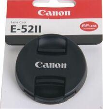 Tapas Canon para objetivos para cámaras