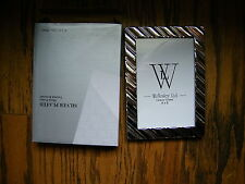 """Silver Plated Tarnish Resistant Photo Frame 4x6 4"""" x 6"""" Wellesley LTD."""