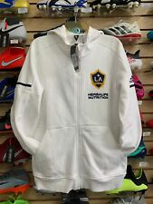 Adidas LA GALAXY TRAVEL HOOD FULL ZIP JACKET Free Shipping Size Large