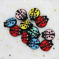 Insect Ladybug Silicone Loose Spacer Beads Baby Teething Toy DIY Pacifier Chain