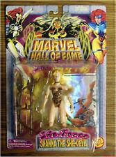 Savage She-Force SHANNA the SHE-DEVIL Marvel Hall Fame action figure Toybiz 1997