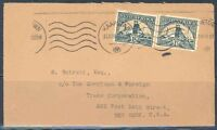 SOUTH AFRICA CAPETOWN JUNE 13, 1941 CENSORED COVER TO NEW YORK  SLIT AT TOP