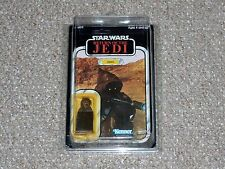 1984 Kenner Star Wars ROTJ Jawa MOC New MOC 79 Back Offerless Unpunched