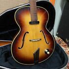 Vintage 1958 Hofner Senator Brunette Sunburst Electric Guitar w/ TKL Hard Case for sale