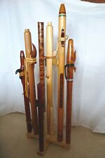 Folding Oak Native American Flute Stand