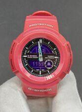 C asio G-Shock AW-582SC-4 Crazy Color Pink Analog Digital Watch