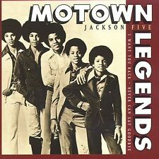 Motown Legends: Never Can Say Goodbye by The Jackson 5 (CD, 1993) Free Shipping!