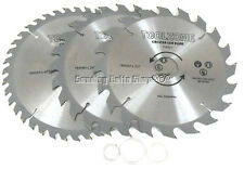 185mm TCT CIRCULAR SAW BLADE PACK OF 3 184mm