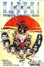 KABUKI MASKS OF THE NOH # 3 VF (Caliber Press, 1996) original Comic Book