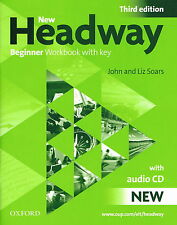 Oxford NEW HEADWAY Beginner THIRD EDITION Workbook with Key & Audio CD @NEW@