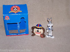 Gibson Looney Tunes Taz And Bugs Bunny Salt And Pepper Shakers Sports Theme