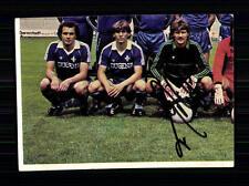 Unbekannt Darmstadt 98 1981-82 Bergmann Sammelbild Original Signiert +A 74965