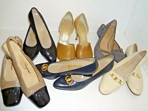 """""""Salvatore Ferragamo"""" Lady's Shoes Different Models Colors Sizes"""