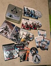 Lotto giochi Assassin's Creed collection + box per Playstation 3