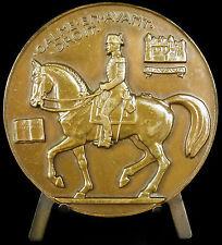 Medaille au général Alexis L'Hotte écuyer en chef du Cadre noir J Vernon medal