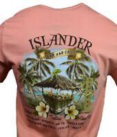 "Men's T-shirt ""ISLANDER "" Bahama Mama Tequila Margarita Bar 1970-Island Shores ."