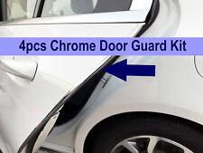 4pcs CHROME DOOR EDGE GUARD Flexible Protection Trim Molding for Dodge 2002-2018