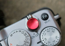 Pro Quality Shutter Button Soft Release Metal Concave Red Fuji XT2 X20 X100 XT4