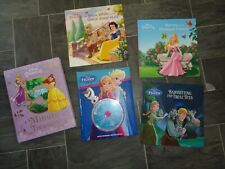 disney princess book bundle-snow white,frozen,5 minute treasury,frozen+cd+aurora