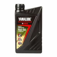 Yamaha Yamalube 4 Stroke 15W50 - Fully Synthetic Motorcycle Engine Oil 1 Litre