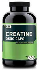 Optimum Nutrition Creatine 2500 200 Capsules Creatine Monohydrate