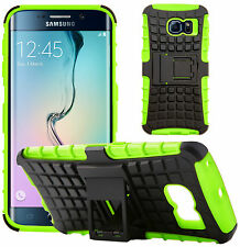 GizzmoHeaven Samsung Galaxy S6 Edge Shock Proof Phone Case Heavy Duty Hard With