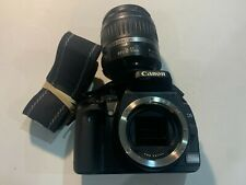 Canon EOS Digital Rebel XTi / EOS 400D f/3.5-5.6 Lens - Black Great Condition