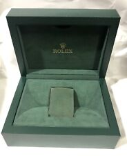 AUTHENTIC ROLEX GENEVE SUISSE LARGE GREEN WATCH BOX 45768